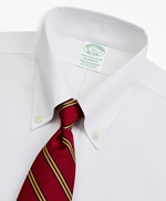 Stretch Milano Slim-Fit Dress Shirt, Non-Iron Pinpoint Short-Sleeve 썸네일 이미지 2