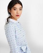 Clip-Dot Supima® Cotton Dobby Shirt Dress 썸네일 이미지 2