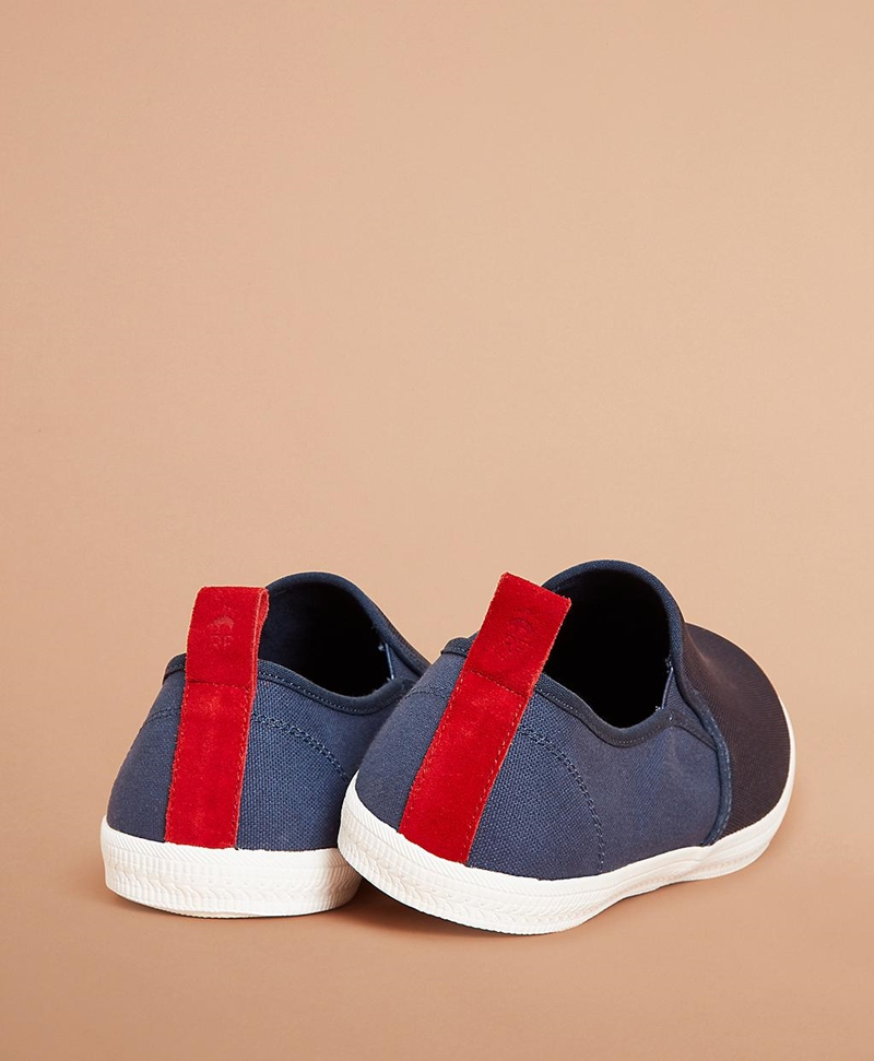Canvas Slip-On Sneakers 썸네일 이미지 2