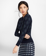 Shimmer-Knit Supima® Cotton-Blend Signature Cardigan 썸네일 이미지 3