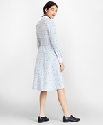 Clip-Dot Supima® Cotton Dobby Shirt Dress 썸네일 이미지 4
